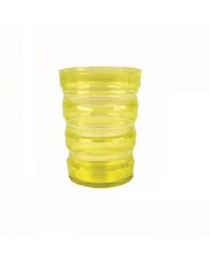 Bicchiere con scanalature